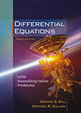 Differential Equations with Boundary Value Problems by Dennis G. Zill