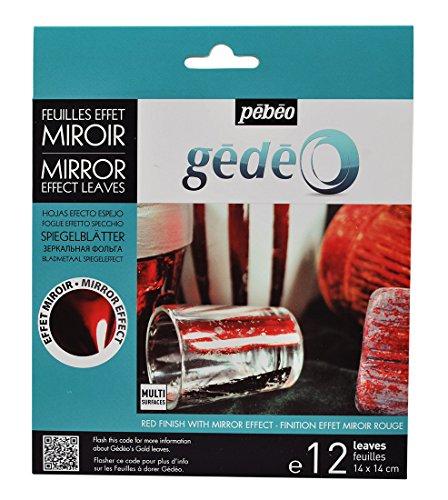 gedeo-spiegelfolie-rot