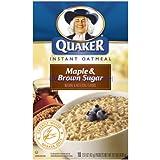 Quaker Instant Oatmeal Maple & Brown Sugar 404g