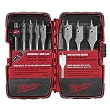 Milwaukee 49-22-0175 8-Piece Universal Quik-Lok Flat Boring Set