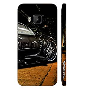 HTC One M9 Mean Machine designer mobile hard shell case by Enthopia
