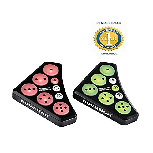Novation Dicer Cue-point, looping and FX control for Digital DJs with 1 Year Free Extended Warranty (Turntable Dicer compare prices)