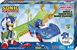 Wondrous Meccano Sonic the Hedgehog and Green Hill Ramp Playset --