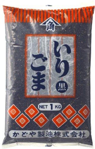 Kadoya Sesame Roasted sesame seeds (black) 1 kg