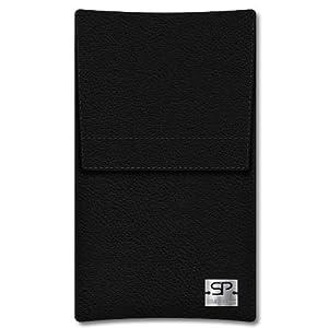 SIMON PIKE Hülle Case Sidney 01 schwarz für Acer Liquid S2 aus Leder