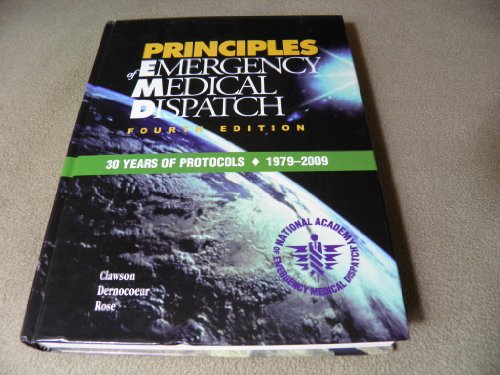 Principles of Emergency Medical Dispatch, 3rd Edition
