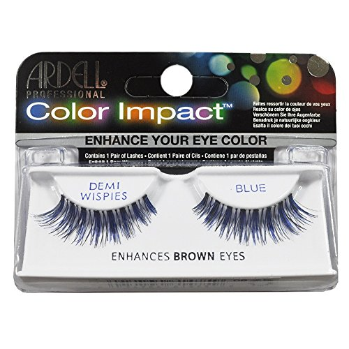 Ardell Color Impact Lashes, Demi Wispies Blue (Blue False Eyelashes compare prices)