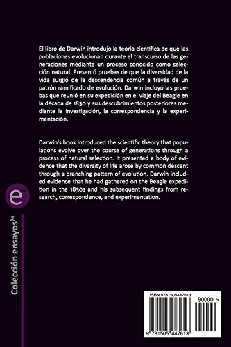 El origen de las especies/The origin of species: Edición bilingüe/Bilingual edition: Volume 32 (Biblioteca Clásicos bilingüe)