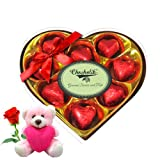 Express Your Love With Teddy And Rose - Chocholik Luxury Chocolates