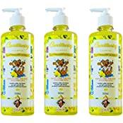 Pack Of 3 Robust All Purpose, Allergy Relief, Conditioning Lemon, Citrus Dog Shampoo 500 Ml