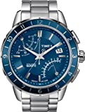 Timex Men's T2N501 Intelligent Quartz SL Series Fly-Back Chronograph Blue Dial Bracelet Watch