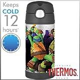 THERMOS サーモス ニンジャ タートルズ 携帯マグ ステンレス水筒 ストロータイプ 350ml 【F4013NT6M】
