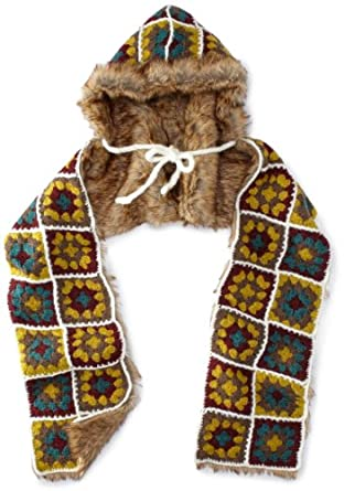 san diego hat s afghan scarf multi one size at