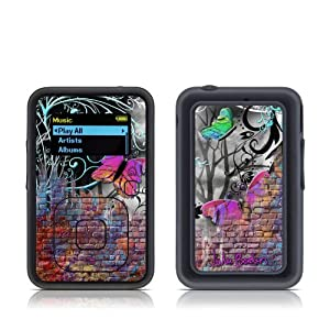 Butterfly Wall Design Protective Decal Skin Sticker for SanDisk Sansa Clip Plus / Sansa Clip+ MP3 Player