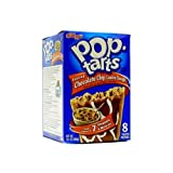 Kellogg's Frosted Choc Chip Cookie Dough Pop Tarts 14.1 OZ (400g)