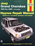 img - for Haynes Repair Manual (Jeep Grand Cherokee 1993-2000) book / textbook / text book