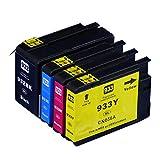 HP932-933XL インクタンク (増量タイプ:BK C M Y ) ヒューレットパッカード(HP)  ICチップ付 【互換インクカートリッジ】 対応機種:Officejet Officejet 6100/ Officejet 6700 Premium/ Officejet 7110/Officejet 7610 「JAN:4582480213966」インクのチップスオリジナル