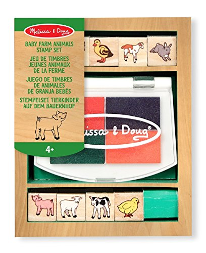 Baby Farm Animals Stamp Set - 1