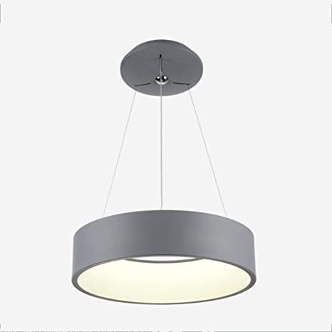 Un conjunto de araña --- Hierro Circular LED Moda Simple Moderna Araña De Luces Sala De Estar Dormitorio Comedor Estudio Araña De Luces (No incluir la fuente de luz) ( Color : B )