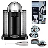 Nespresso VertuoLine GCA1-US-RE-NE Espresso Maker + Accessory Bundle