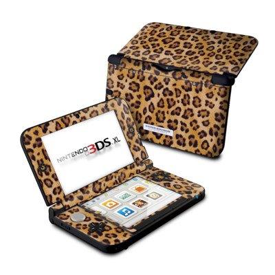 【即納】ニンテンドー3DS LL用スキンシール【Leopard Spots】