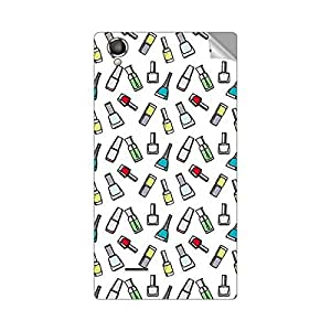 Garmor Designer Mobile Skin Sticker For XOLO A550S IPS - Mobile Sticker