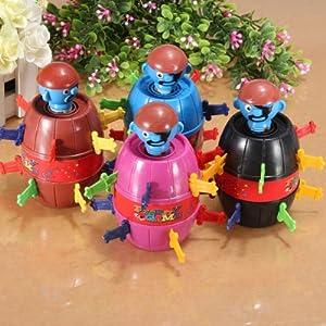 Spiel Pop-Up PIRAT PIRATE Piraten Spielzeug glücklich Stab Mädchen Jungen Kinder