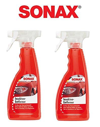 set-pratico-detergente-per-2-x-750-ml-sonax-insektenent-inoltre-vetro-cromato-per-vernice-plastica