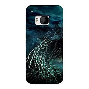 Cute Horror Tree Multicolor Back Case Cover for HTC One M9
