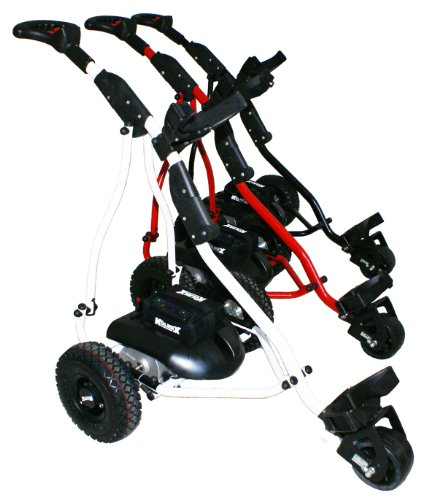 2013 Kolnex Electric Golf Caddy, Trolley, Cart. Full Remote Control. Model TXR360. Black frame.