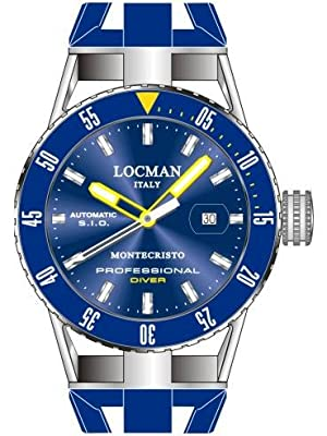 Locman Montecristo Professional Divers' Automatic from Locman Italy