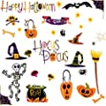 RoomMates PJ2003SCS Happy Halloween Peel & Stick Wall Decals