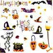 RoomMates PJ2003SCS Happy Halloween Peel &amp; Stick Wall Decals