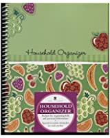 Monthly Bill Paying, Household, and Greeting Card Organizer with Pockets