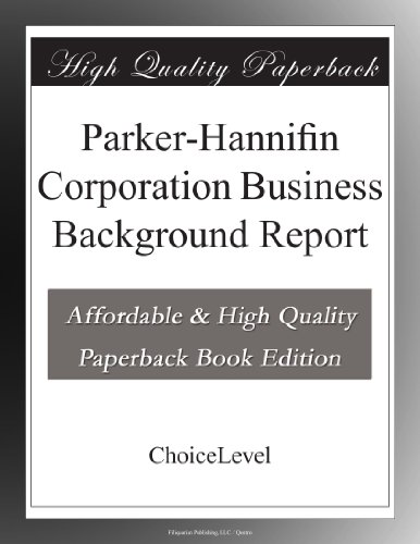 parker-hannifin-corporation-business-background-report