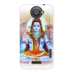 Enticing Blessings Of Shiva Back Case Cover for HTC One X