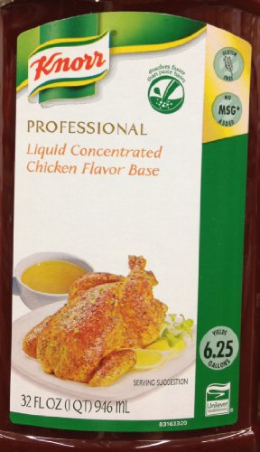 32oz Knorr Professional Liquid Concentrated Chicken Flavor Base Makes 6.25 Gallons (Knorr Chicken Base compare prices)