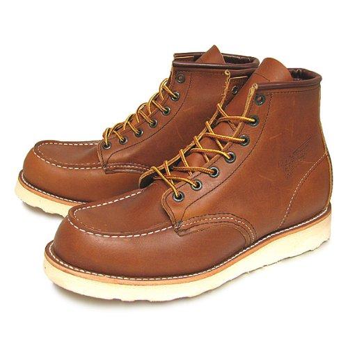 レッドウィング 875 6インチ ブーツ [並行輸入品]