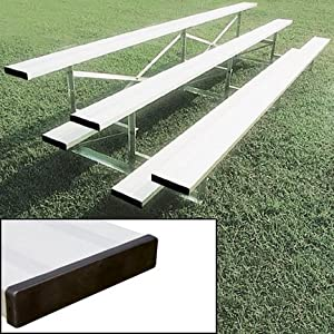 15 Stationary Aluminum Bleachers 3 Rows from SSG / BSN