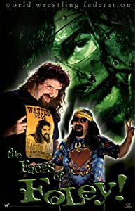 Mick Foley The Faces of Foley WWF WWE Sports Poster Print