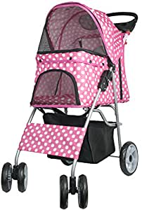 VIVO Four Wheel Pet Stroller, for Cat,