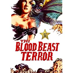 The Blood Beast Terror [VHS Retro Style DVD] 1968