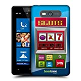 Head Case Designs Slots Machine Cases Protective Snap on Hard Back Case Cover for Nokia Lumia 820