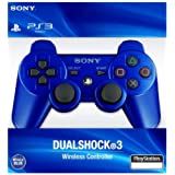 FidgetFidget DualShock 3 Wireless Controller for Playstation PS3 Official Color Blue (Color: Blue)