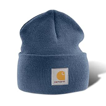 Carhartt Men's Acrylic Watch Hat,Blue,One Size