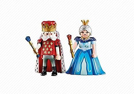 Playmobil - 6378 - Le Roi et la Reine - Emballage Plastique, pas de boîte