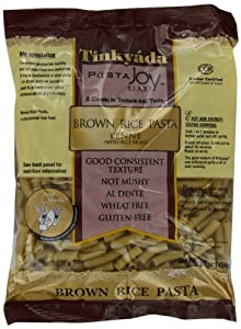 Tinkyada Brown Rice Penne Pasta with Rice Bran, 16-Ounce Packages (Pack of 12)