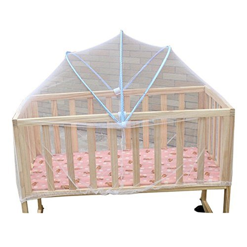Eonkoo New Foldable Baby Kids Infant Nursery Bed Crib Canopy Safty Arch Mosquito Net Netting Play Tent House (Pack N Play Netting compare prices)