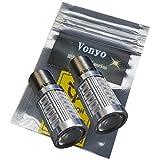 Vonyoボニョ S25 アンバー ウインカー LEDバルブ 5630 33SMD シングル球LED ステルス仕様 33連 2個セット 150° ピン角違い