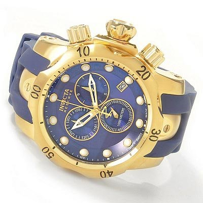 Invicta Men's 6113 Reserve Collection Subaqua Venom 18k Gold-Plated Chronograph Watch